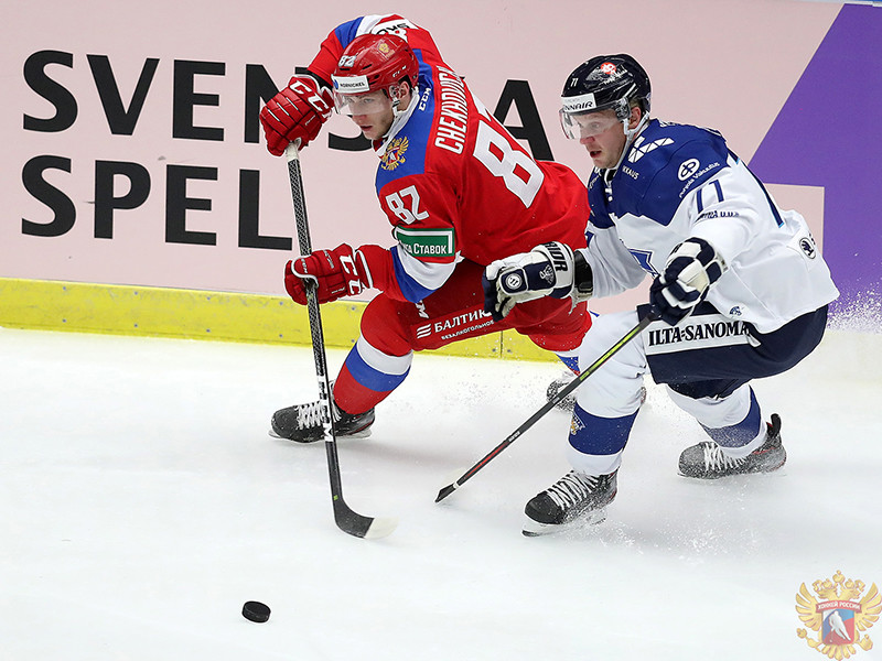 Российские хоккеисты выиграли седьмой матч подряд в Евротуре