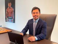 Филиппинский сенатор Мэнни Пакьяо намерен вернуться на боксерский ринг