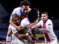 """Футболисты """"ПСЖ"""" нанесли крупное поражение """"Барселоне"""" в плей-офф Лиги чемпионов"""