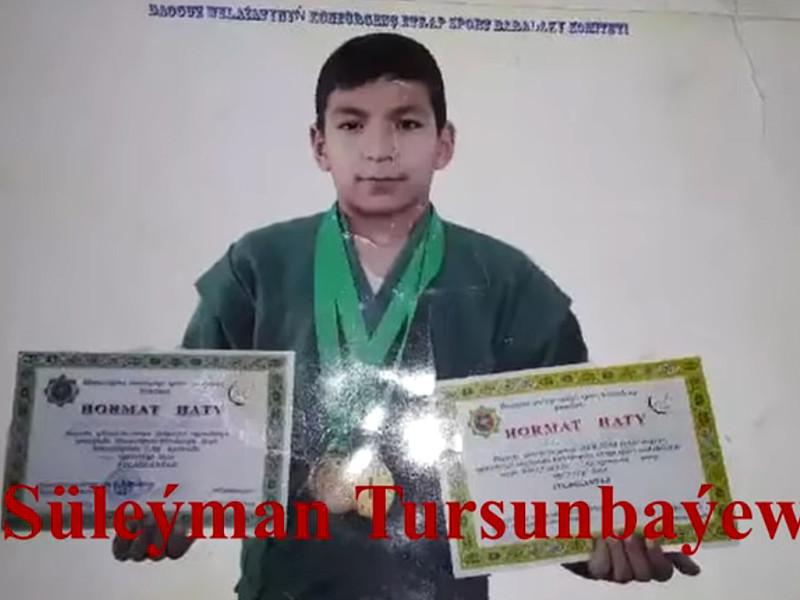 В Туркмении скончался 14-летний Сулейман Турсунбаев, которого жестко избили после победы на турнире по дзюдо