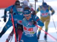 Биатлонисты РФ не попали в десятку в сингл-миксте на чемпионате мира