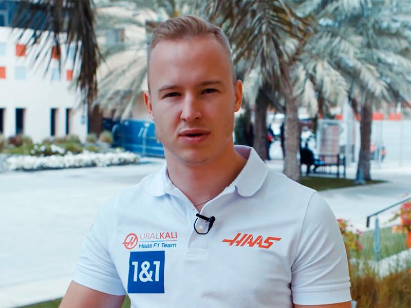"""Никита Мазепин вылетел на первом же круге дебютной гонки в """"Формуле-1"""""""