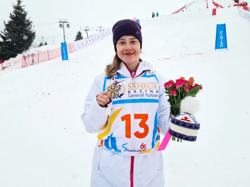 Фристайлистка Смирнова завоевала бронзовую награду на чемпионате мира