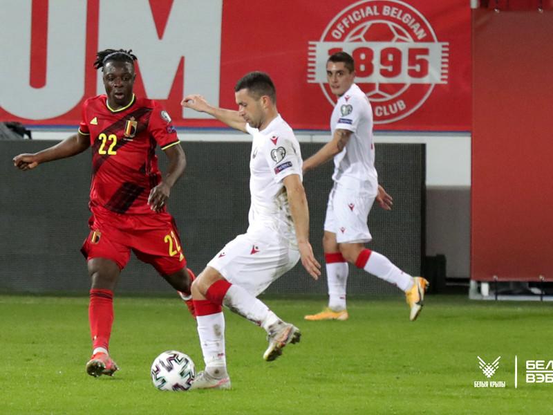 Встреча завершилась чудовищным поражением сборной Белоруссии со счетом 0:8