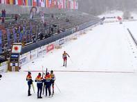 Российские лыжники вновь стали вторыми в эстафете чемпионата мира