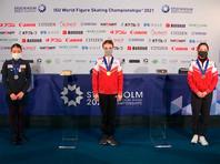 Фигуристка Анна Щербакова выиграла короткую программу на чемпионате мира