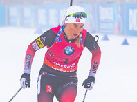 Тириль Экхофф выиграла последний спринт биатлонного сезона, а россиянки потеряли квоту
