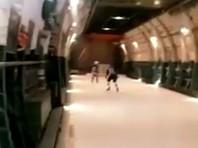 """Военные летчики устроили хоккейный матч на борту самолета АН-124 """"Руслан"""""""