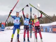 Норвежка Рёйселанн выиграла гонку преследования на заключительном этапе Кубка мира