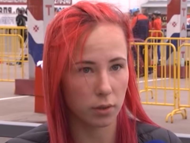 Серебряный призер чемпионата России по биатлону Наталья Ушкина