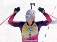 Экхофф победила в гонке преследования, российские биатлонистки на награды не претендовали