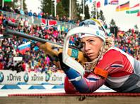 Норвежская биатлонистка Экхофф выиграла пятую спринтерскую гонку подряд