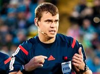 Российский арбитр встал на одно колено перед футбольным матчем с участием сборной Англии