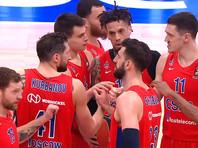 Баскетболисты московского ЦСКА прервали серию домашних поражений в Евролиге