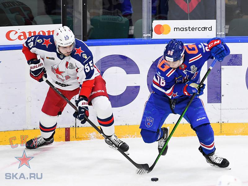 Хоккеисты питерского СКА размочили счет в армейском дерби Кубка Гагарина