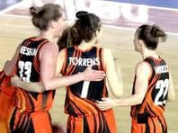 Российский клуб УГМК стал финалистом женской баскетбольной Евролиги