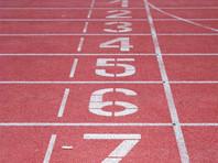 Во время легкоатлетического забега финишную черту первой пересекла собака (ВИДЕО)