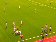 Очередной футбольный матч в Грозном омрачен побоищем и физическим воздействием на судью