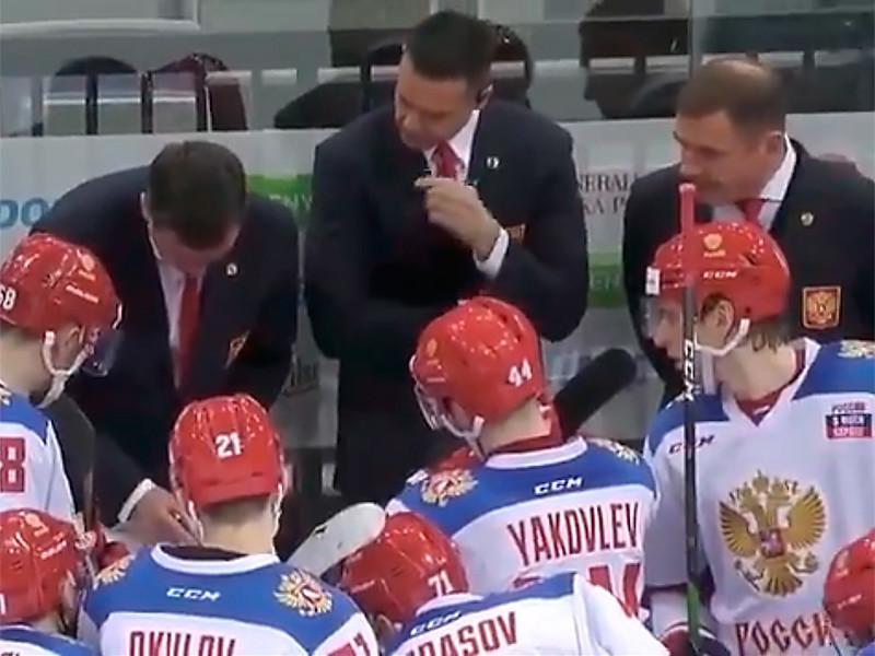 Российские хоккеисты потерпели первое поражение в Евротуре, прервав рекордную серию