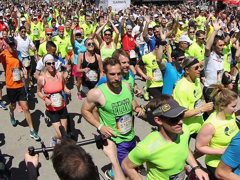 международный благотворительный забег Wings for Life World Run 2016 года
