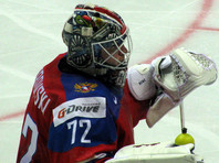 Сборную России на чемпионате мира по хоккею усилит вратарь Сергей Бобровский