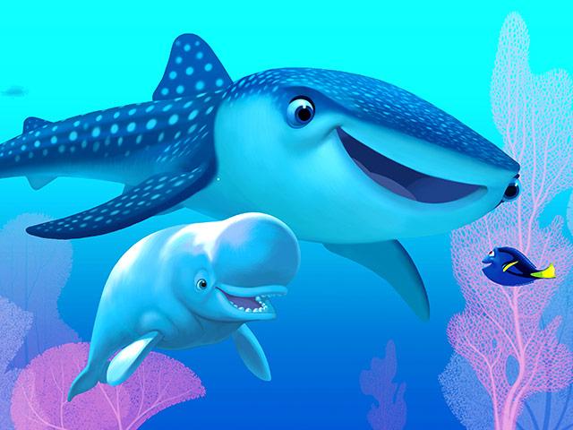 """Опубликован трейлер нового мультфильма студии Pixar """"В поисках Дори"""""""