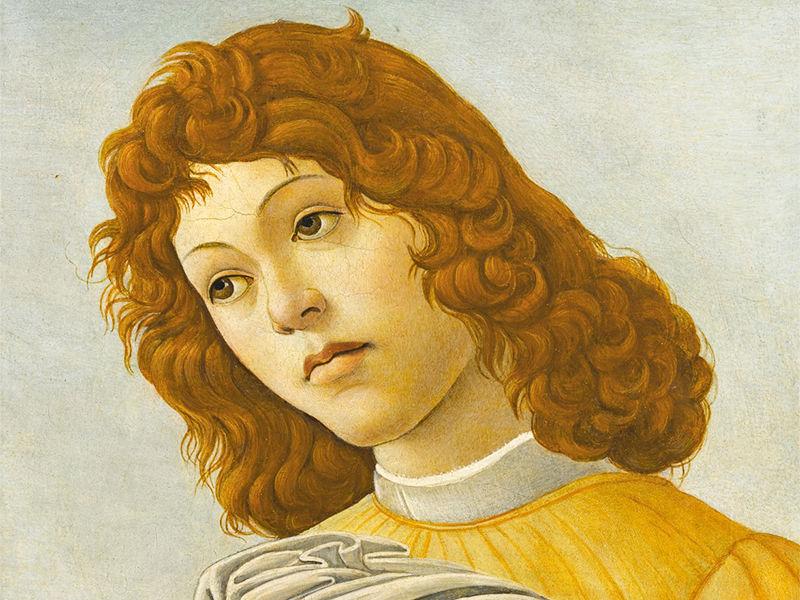 """Картина великого итальянского ийского живописца Сандро Боттичелли """"Голова ангела"""" продана в четверг в Нью-Йорке на аукционе Sotheby's за 1,09 млн долларов"""