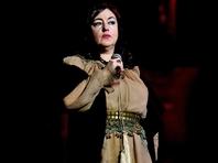 """Тамара Гвердцители спела """"Вставай, страна огромная!"""" в нью-йоркском Карнеги-холле"""