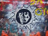 """""""Перемен требуют наши глаза"""": стену Цоя на Арбате закрасили надписью """"Цой мертв"""""""