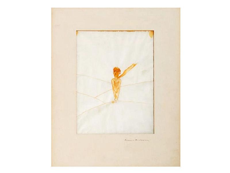 В Париже продали с аукциона акварель с Маленьким принцем, нарисованную Сент-Экзюпери для первого американского издания