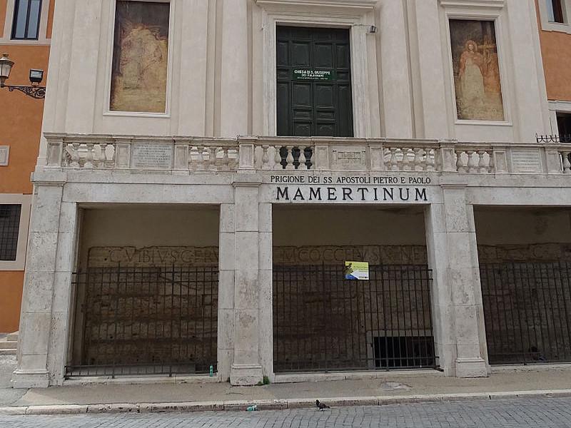 """Мультимедийный музей """"Мамертинская тюрьма"""", один из памятников раннего христианства, 21 июля вновь открылся для посетителей после реставрационных работ, продолжавшихся три года"""