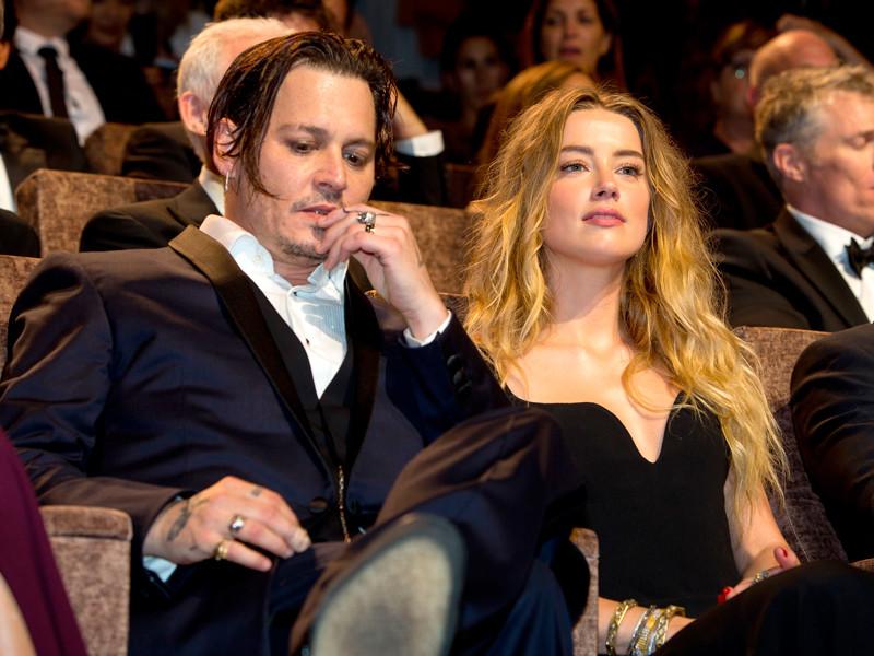 Джонни Депп попросил суд засекретить его развод с Эмбер Херд