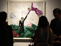 """В испанской Малаге открылась выставка """"Русского музея"""" по творчеству Шагала"""