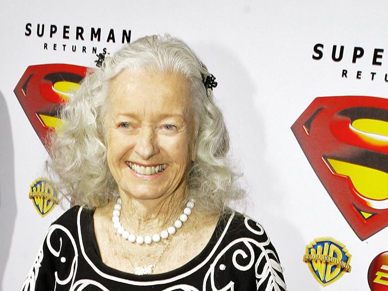 Актриса Ноэль Нилл, известная как первая исполнительница подруги, а впоследствии и супруги Супермена, скончалась у себя дома в Аризоне в возрасте 95 лет