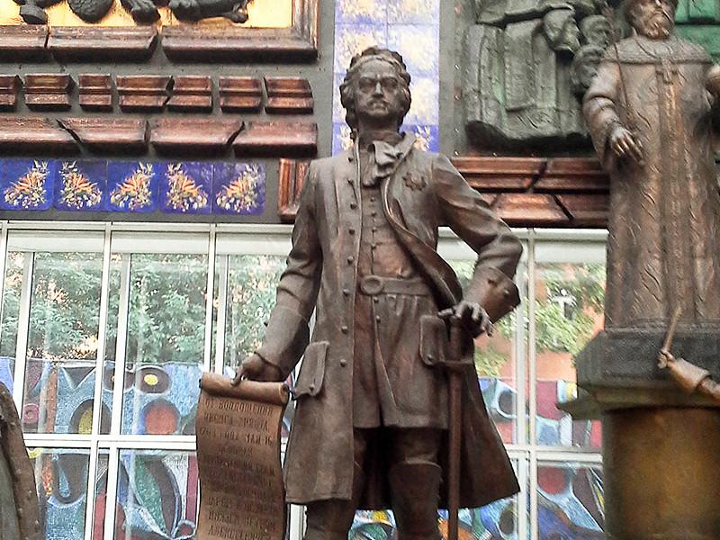 Зураб Церетели решил подарить Омску скульптуру Петру I, узнав, что в городе нет ни одного памятника императору