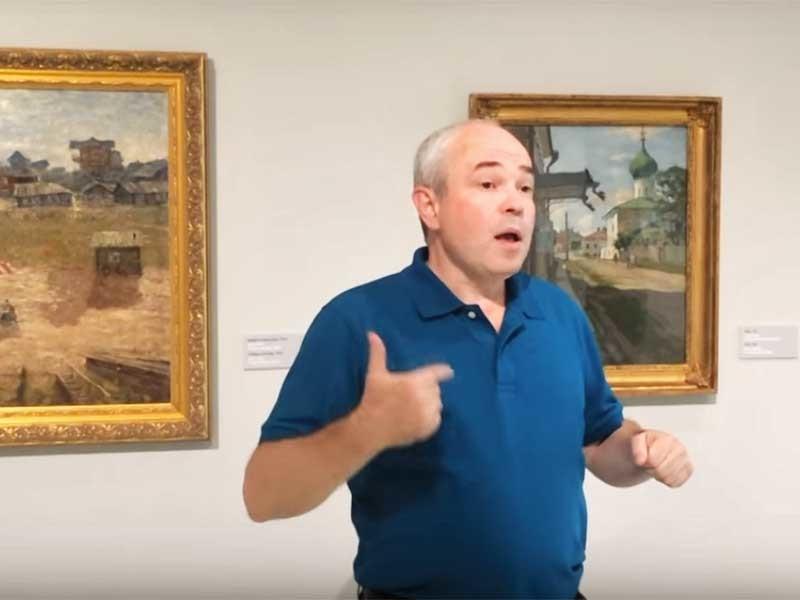 Начиная с 5 августа в Музее русского импрессионизма появится видеогид по коллекции представленных предметов искусства на жестовом языке для слабослышащих и глухих посетителей