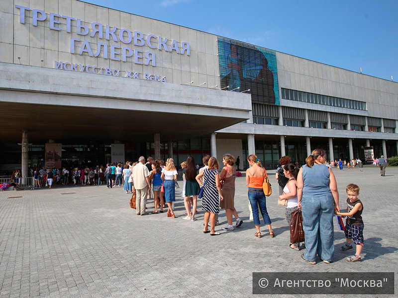 Выставка Айвазовского в Третьяковке побила рекорд выставки Серова по посещаемости