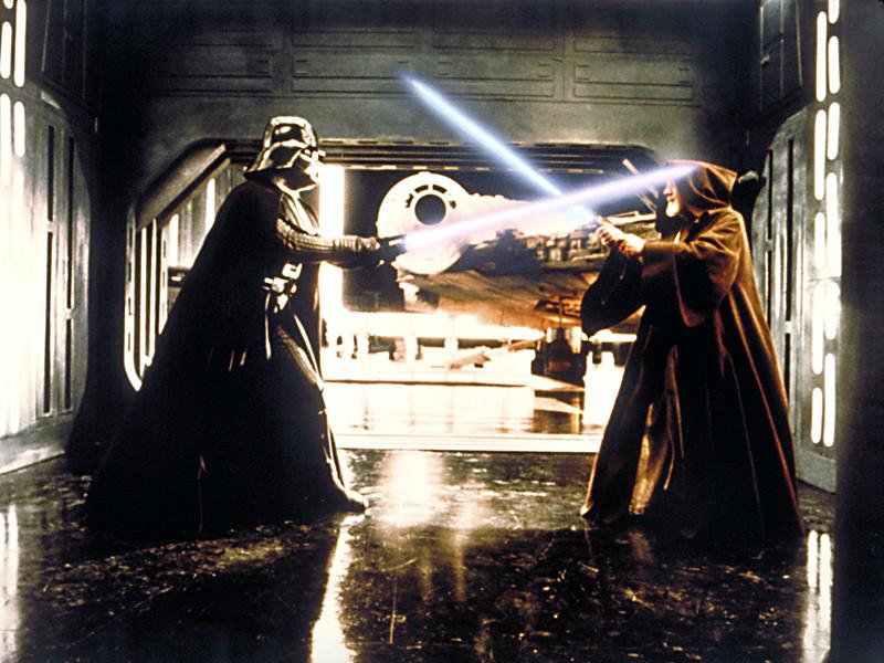 """В Disney решили запатентовать """"настоящие"""" световые мечи из """"Звездных войн"""""""
