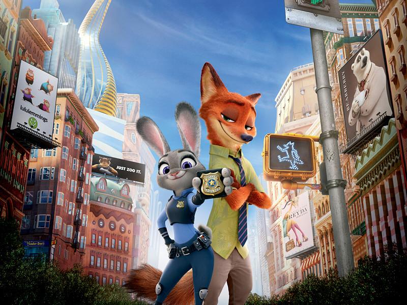 """Около 29% от всех сборов Disney в этом году принес мультфильм """"Зверополис"""", на счету которого 2,276 млрд рублей в России и СНГ"""