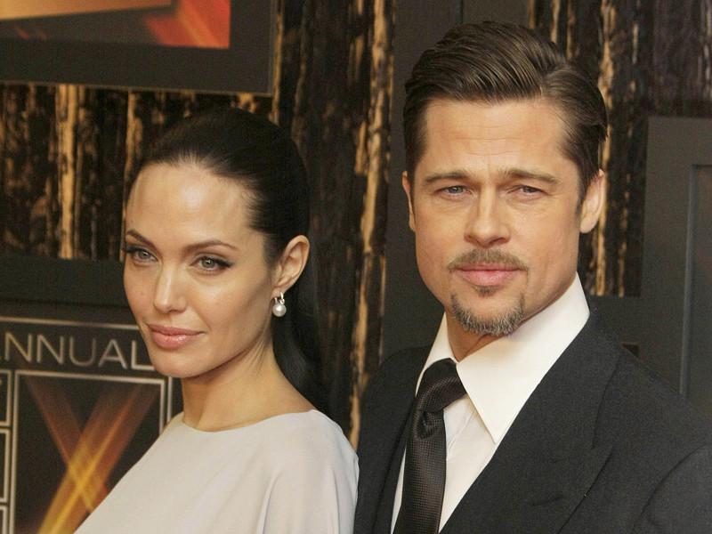 В музее мадам Тюссо разделили фигуры Анджелины Джоли и Брэда Питта