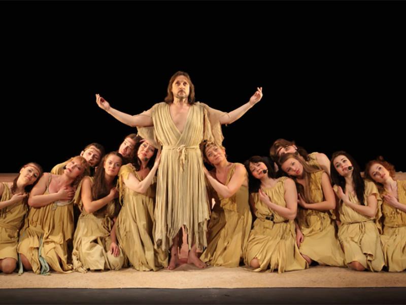 """Спектакль """"Иисус Христос - суперзвезда"""" санкт-петербургского театра """"Рок-опера"""""""