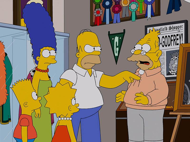 """Сериал """"Симпсоны"""" стал вторым в истории прайм-тайм телешоу, состоящим из 600 эпизодов"""