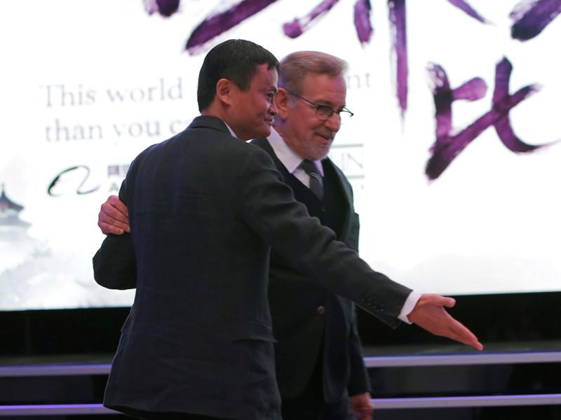 """Джек Ма и Стивен Спилберг стали стратегическими партнерами и приступили к строительству """"культурного моста"""""""