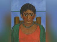 """Картина Фриды Кало """"Девушка с ожерельем"""", впервые показанная публике, продана с аукциона за 1,8 млн долларов"""