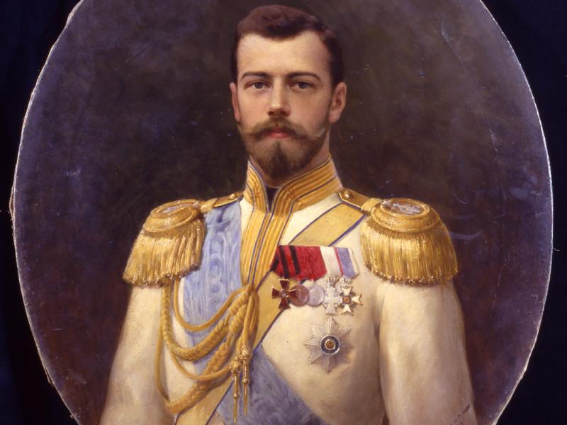 Один из портретов императора Николая II  авторства Ильи Галкина