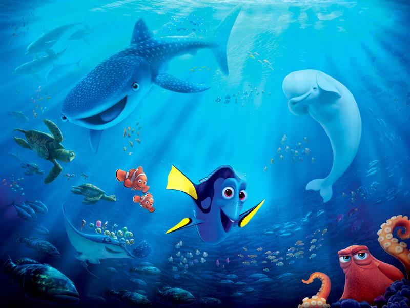"""На первой позиции рейтинга по размерам сборов текущего года пока стоит полнометражный компьютерный анимационный фильм """"В поисках Дори"""" с 486,2 млн долларов"""