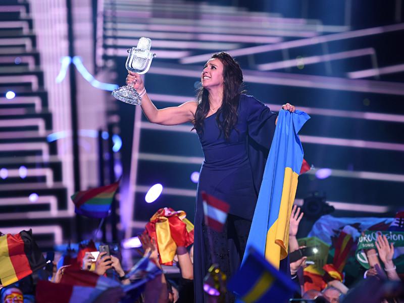 """Конкурс """"Евровидение"""" проходит в мае. В 2016 году в Стокольме победу одержала украинская певица Джамала с песней """"1944"""""""