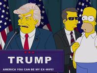 """Создатели """"Симпсонов"""" прокомментировали свое предсказание о президентстве Трампа в новом ВИДЕО"""