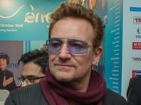 Солист U2 Боно возглавил рейтинг женщин года журнала Glamour