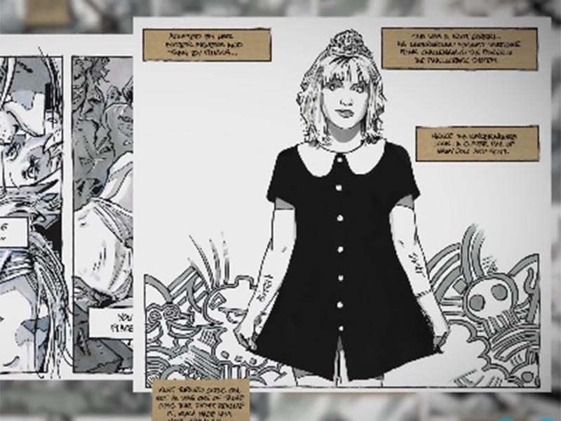 В Сети появился первый трейлер комикса об убийстве Курта Кобейна